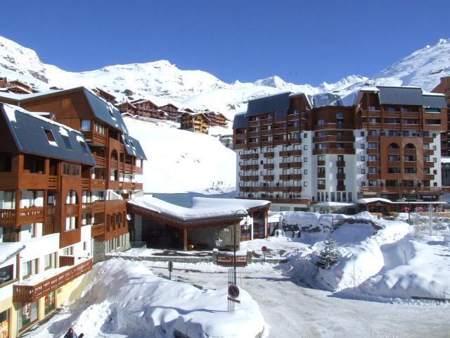 Location au ski Studio 2 personnes (2703) - Residence Cimes De Caron - Val Thorens - Coin repas