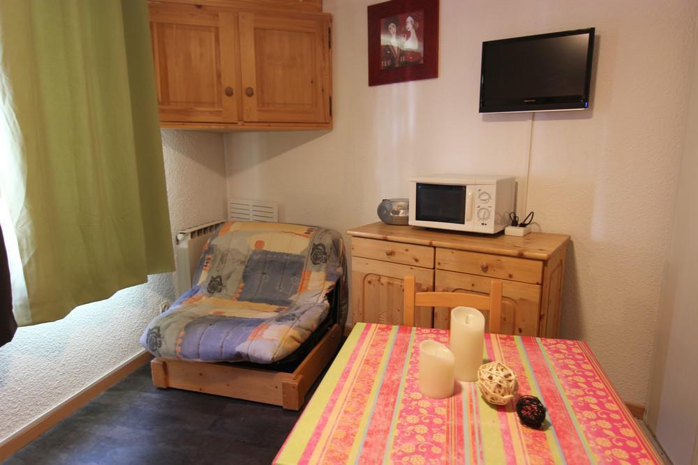Location au ski Studio 2 personnes (2703) - Residence Cimes De Caron - Val Thorens - Salle d'eau
