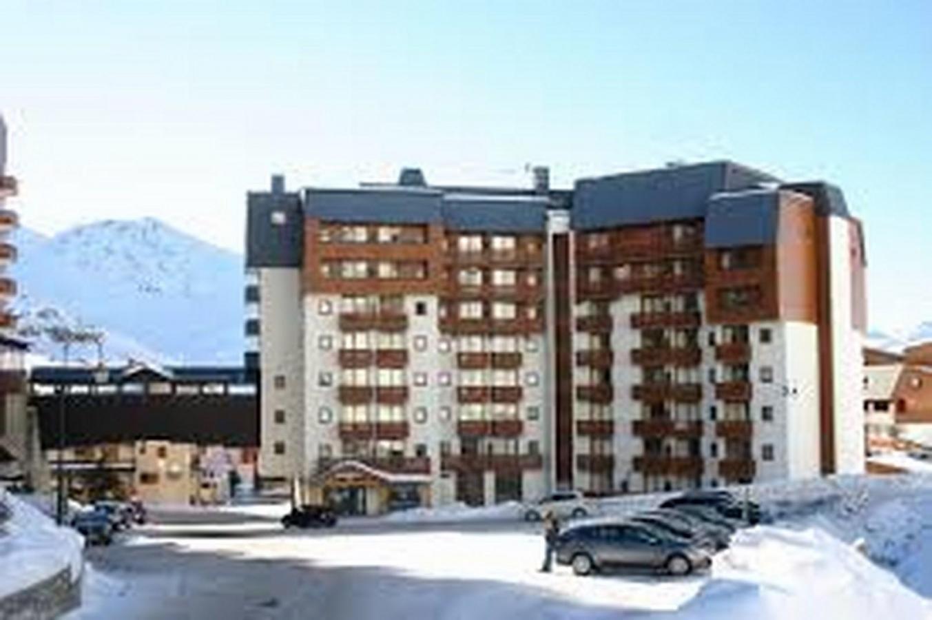 Location au ski Appartement 3 pièces 6 personnes (715) - Residence De L'altineige - Val Thorens - Extérieur hiver