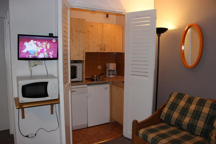 Location au ski Appartement 2 pièces 4 personnes (518) - Residence De L'olympic - Val Thorens - Kitchenette