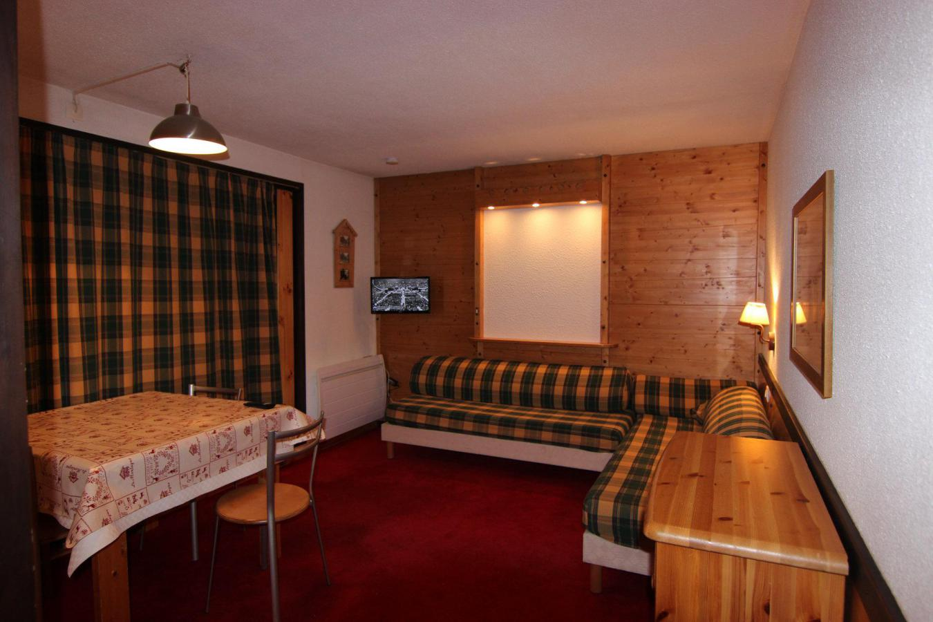 Location au ski Studio 2 personnes (221) - Residence De L'olympic - Val Thorens - Kitchenette