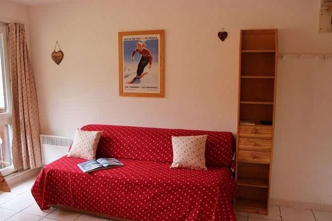 Location au ski Studio 2 personnes (625) - Residence De L'olympic - Val Thorens - Appartement
