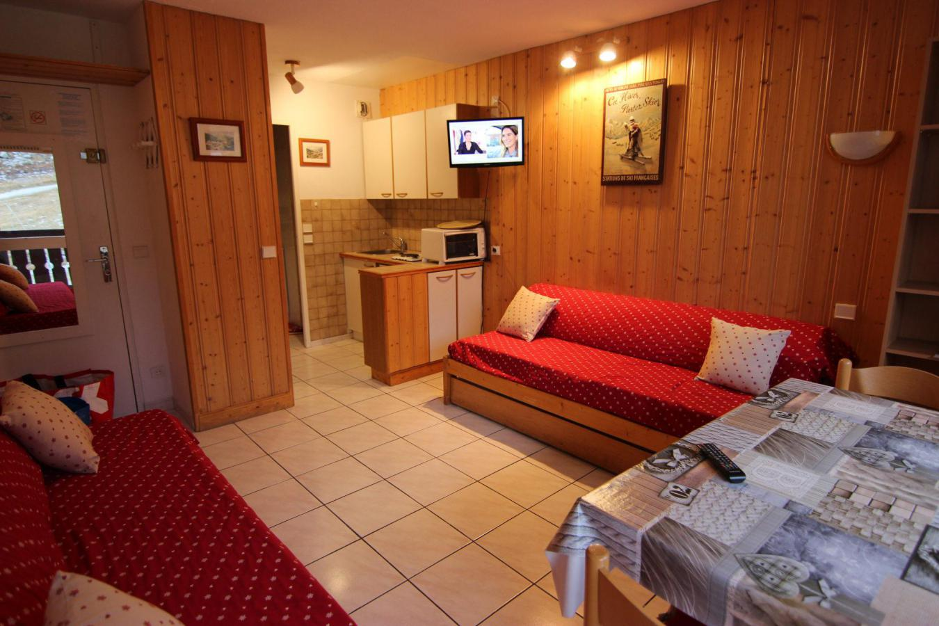 Location au ski Studio 2 personnes (625) - Residence De L'olympic - Val Thorens - Table