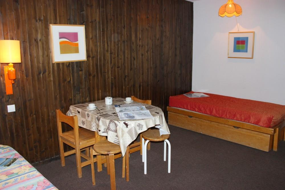 Location au ski Studio 3 personnes (323) - Residence De L'olympic - Val Thorens - Table