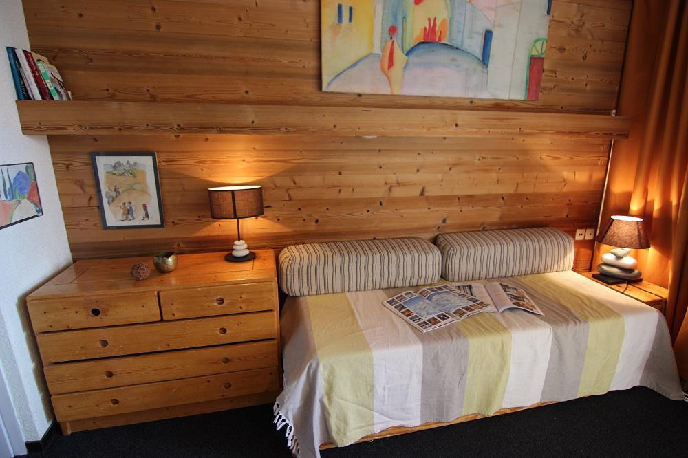 Location au ski Appartement 2 pièces cabine 6 personnes (26) - Residence Eterlous - Val Thorens - Canapé
