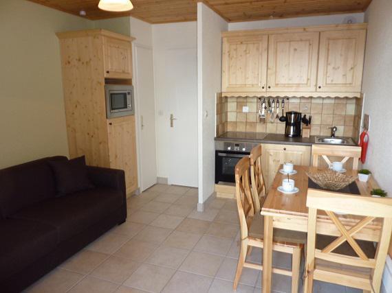 Location au ski Studio cabine 4 personnes (28) - Residence Eterlous - Val Thorens - Kitchenette