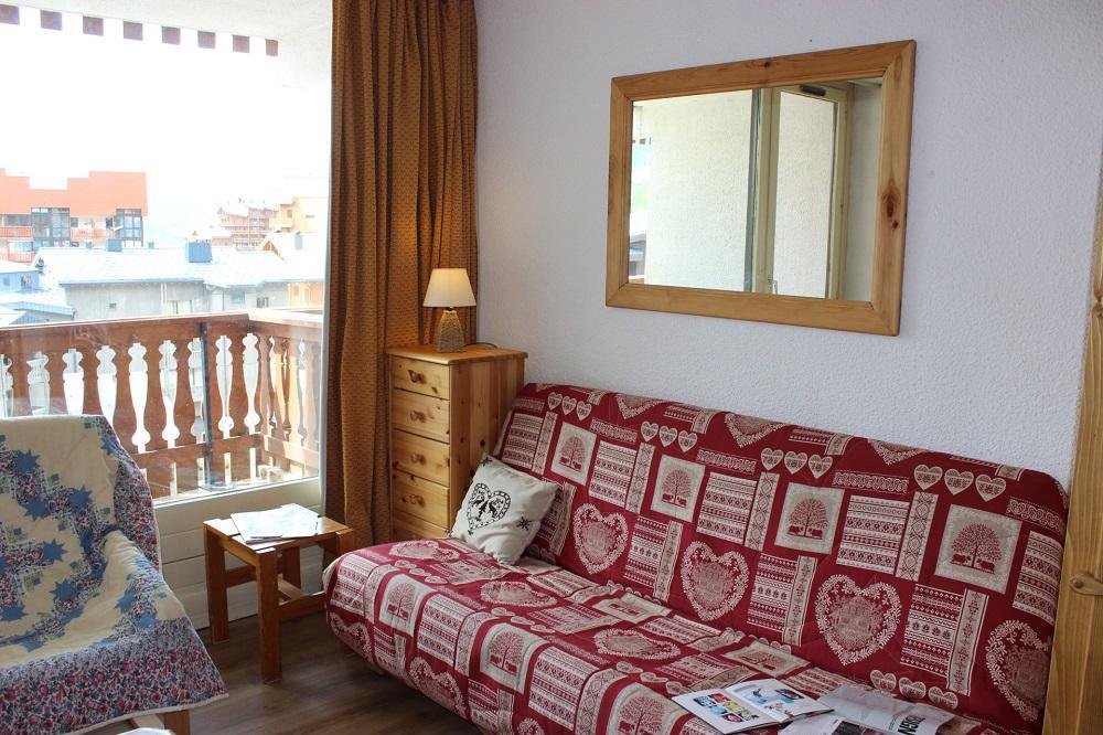 Location au ski Studio cabine 4 personnes (42) - Residence Eterlous - Val Thorens - Canapé