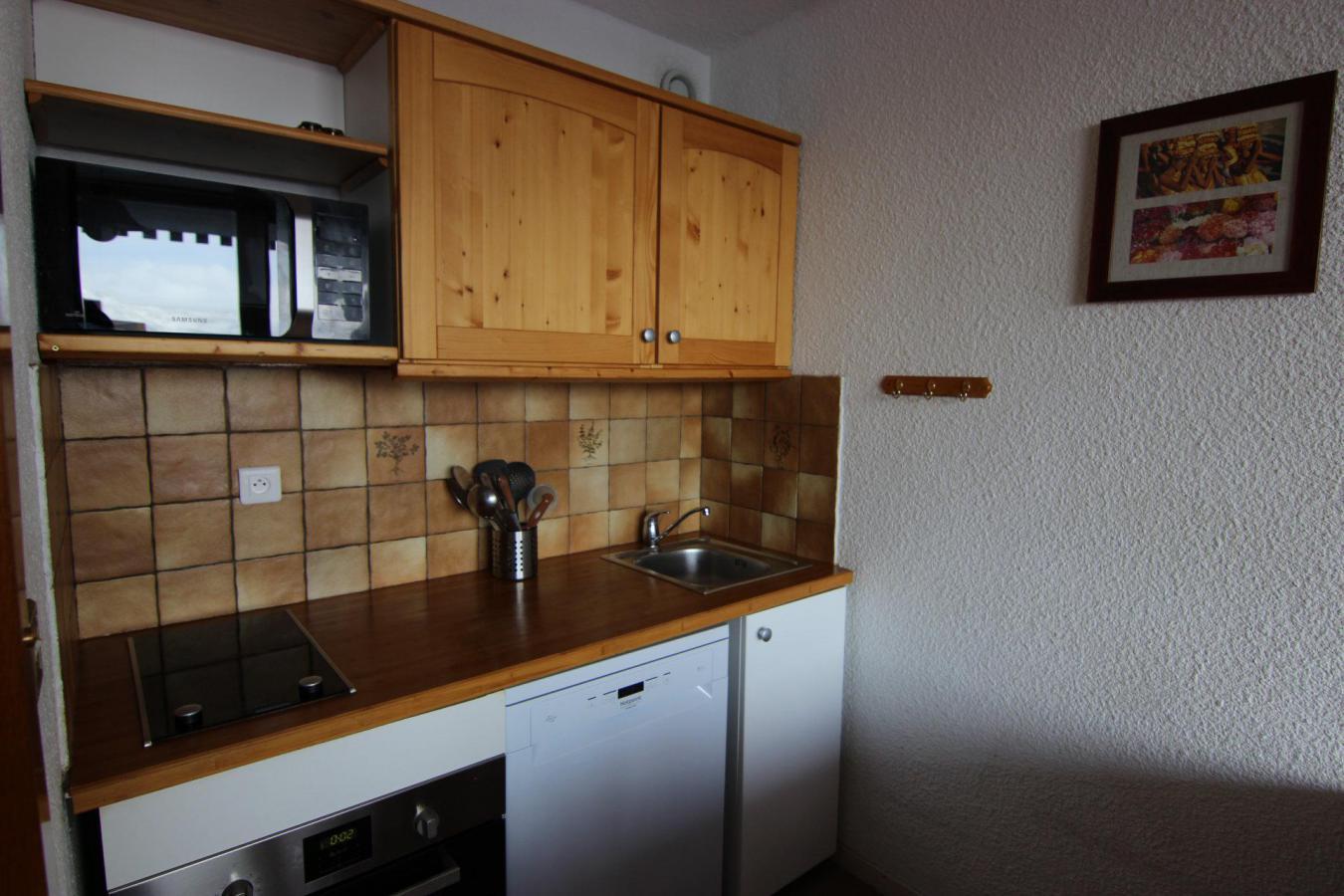 Location au ski Studio cabine 4 personnes (42) - Residence Eterlous - Val Thorens - Salle de bains