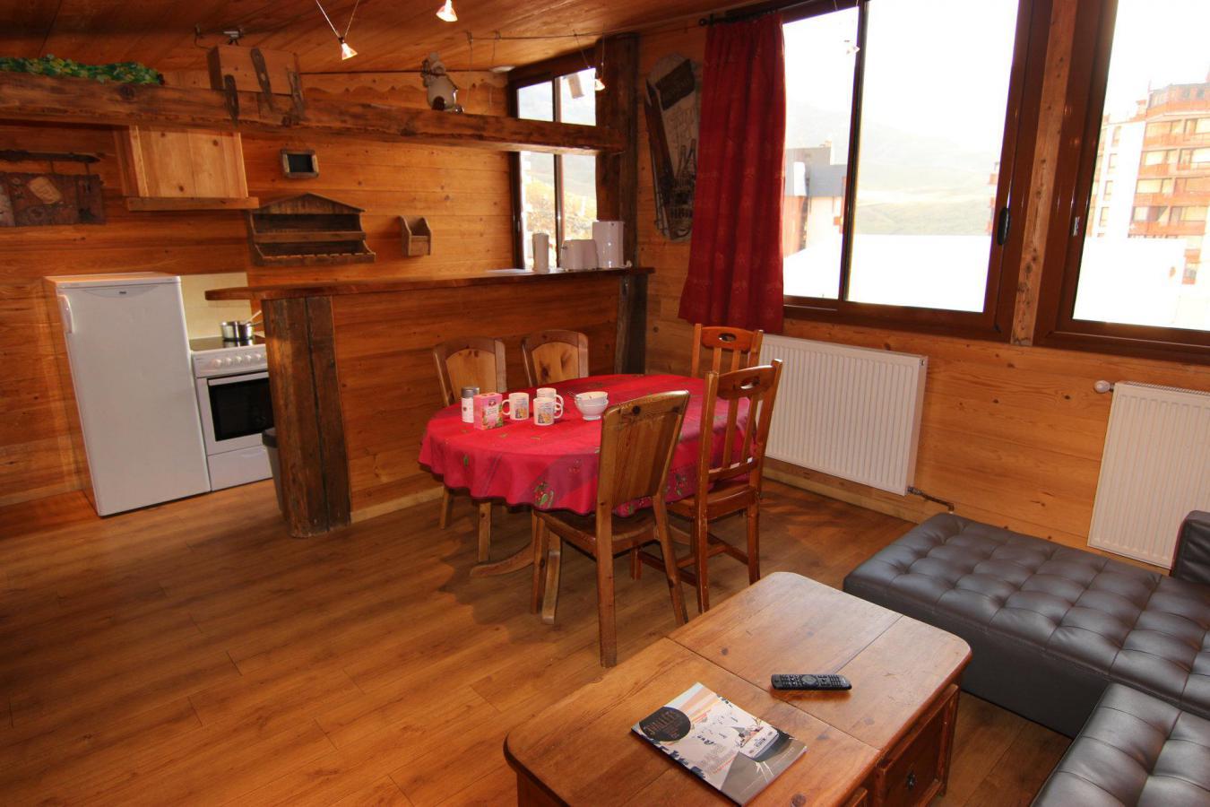 Location au ski Appartement 4 pièces 6 personnes (1) - Residence Galerie De Peclet - Val Thorens - Coin séjour