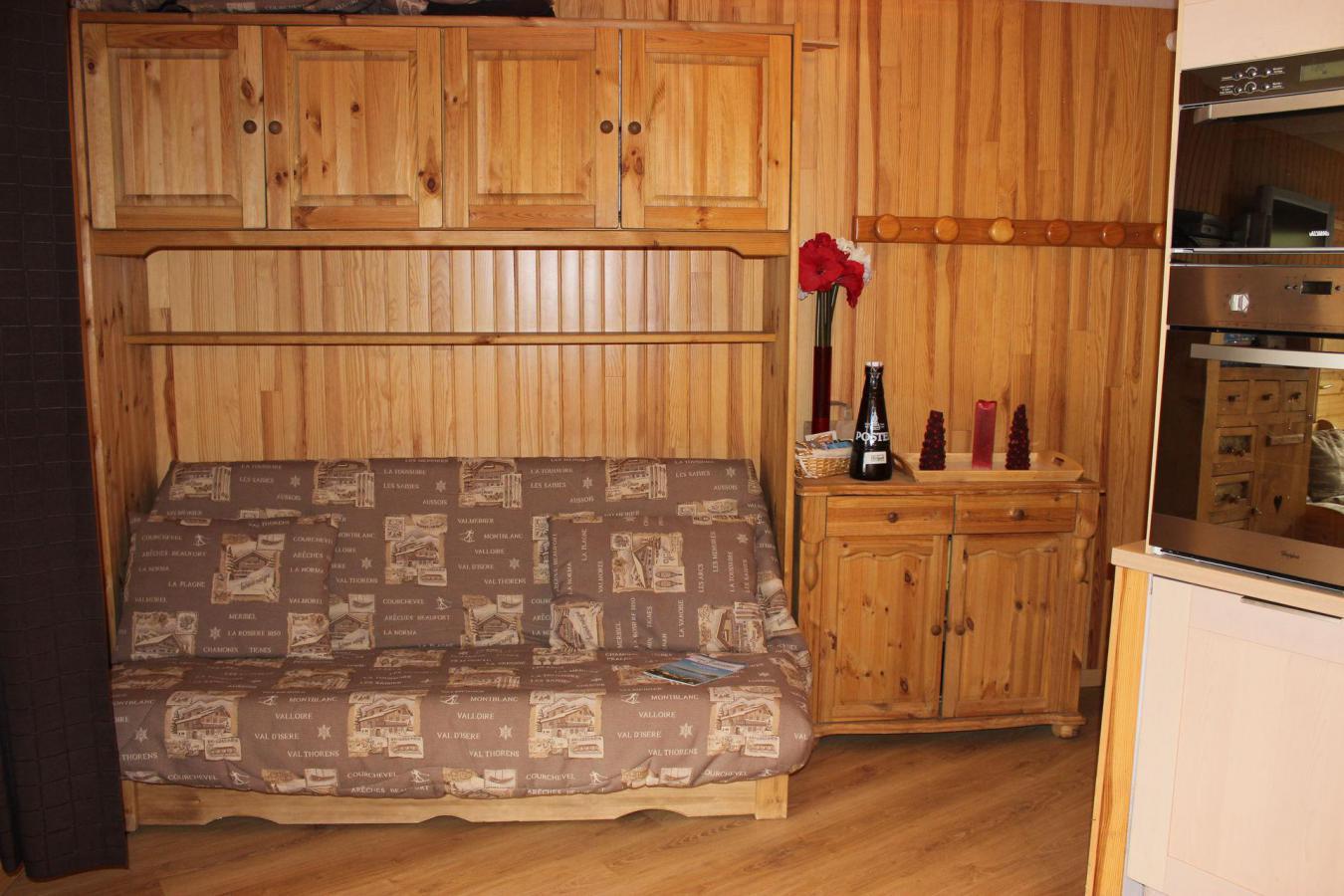 Location au ski Appartement 3 pièces cabine 6 personnes (B22) - Residence Hauts De Chaviere - Val Thorens - Lit double