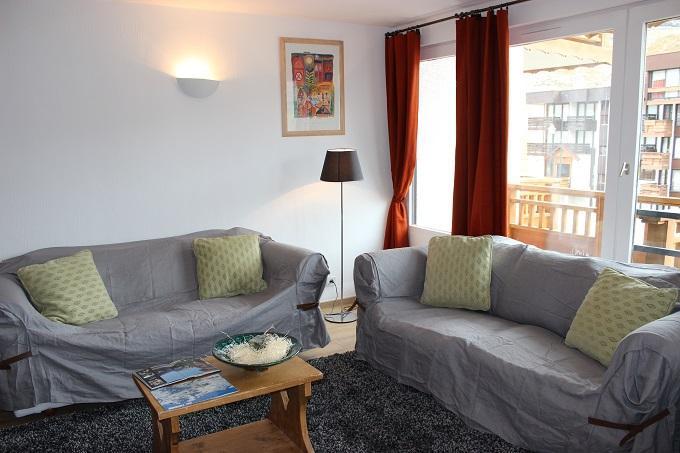 Location au ski Appartement 4 pièces 8 personnes (4) - Residence Hauts De Chaviere - Val Thorens - Canapé