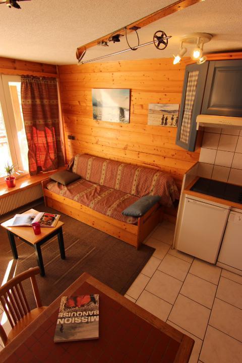 Location au ski Studio coin montagne 3 personnes (30) - Residence Hauts De Chaviere - Val Thorens - Kitchenette