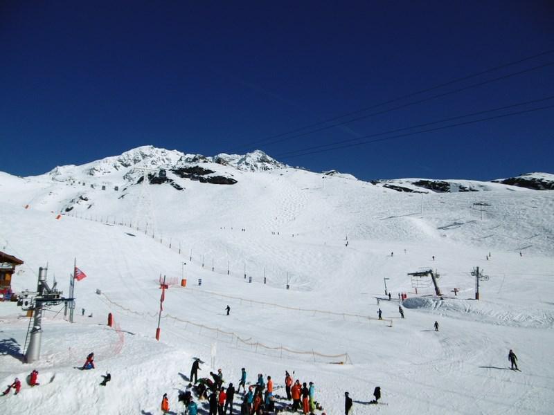 Location au ski Appartement 2 pièces 4 personnes (403) - Residence L'olympic - Val Thorens - Extérieur hiver