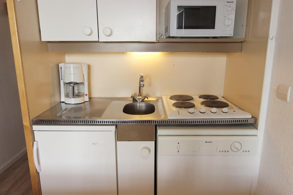 Location au ski Appartement 2 pièces cabine 4 personnes (518) - Residence Lauzieres - Val Thorens - Lits superposés