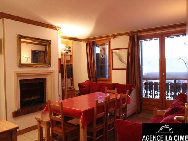 Location au ski Appartement 4 pièces 8 personnes (011) - Residence Le Diamant - Val Thorens - Lit double