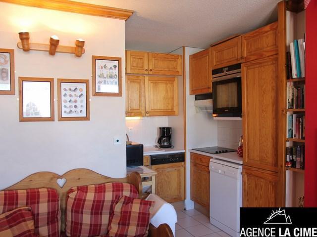 Location au ski Appartement 4 pièces 8 personnes (021) - Residence Le Diamant - Val Thorens - Lits superposés