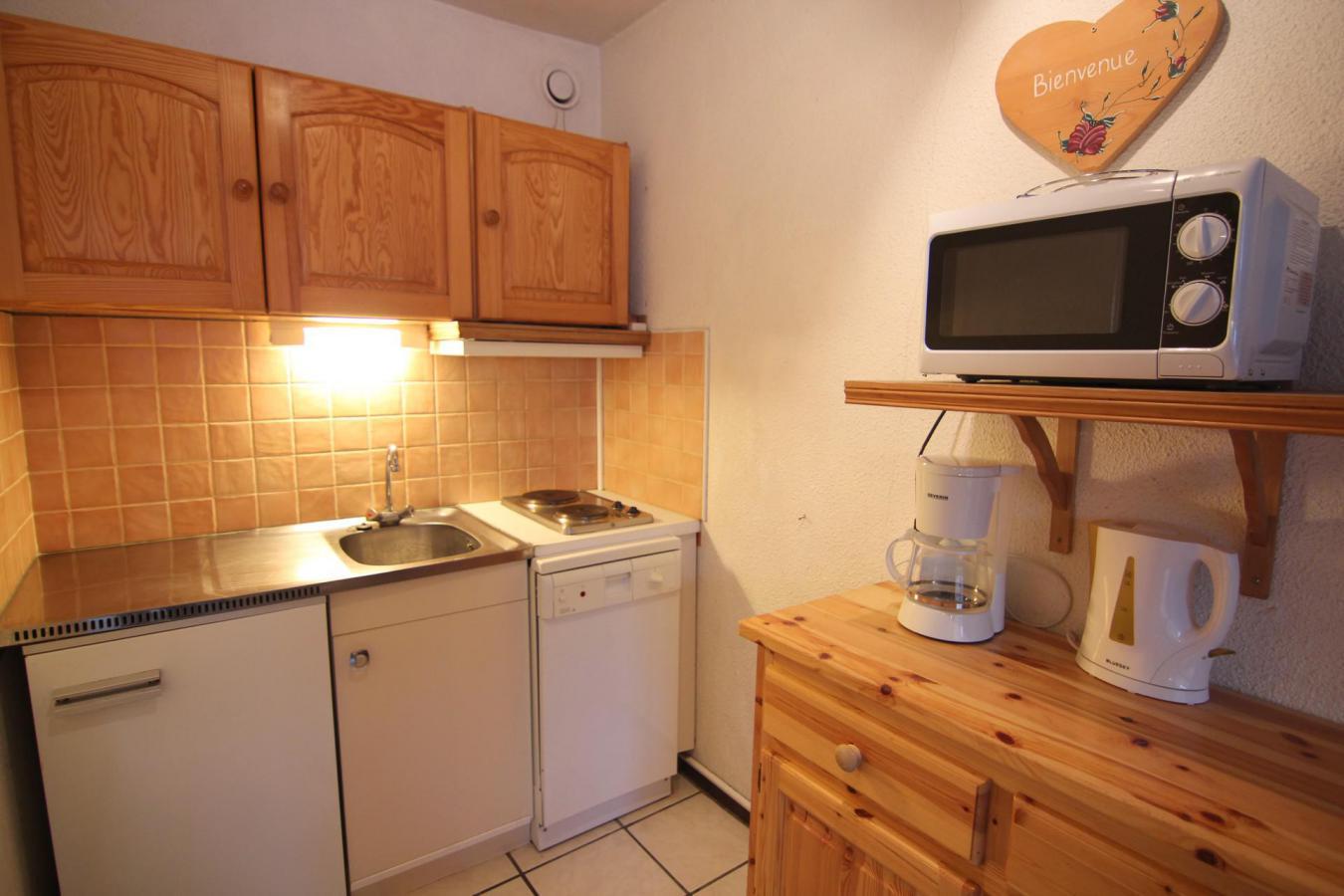 Location au ski Studio 4 personnes (609) - Residence Le Lac Blanc - Val Thorens - Plan