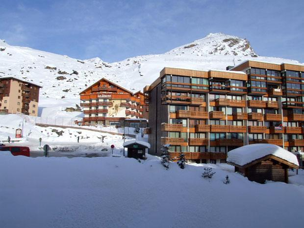 Location au ski Studio 4 personnes (507) - Residence Le Lac Blanc - Val Thorens - Kitchenette