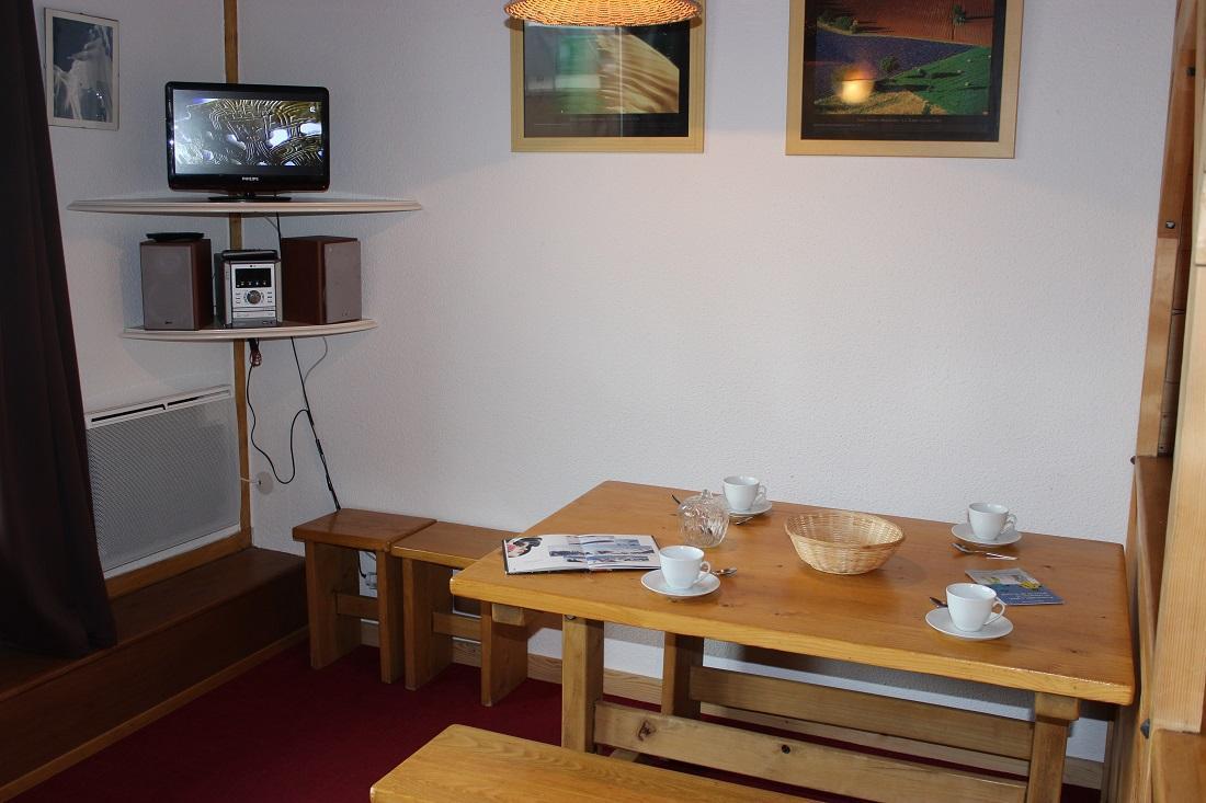 Location au ski Studio coin montagne 4 personnes (503) - Residence Le Lac Blanc - Val Thorens - Coin repas