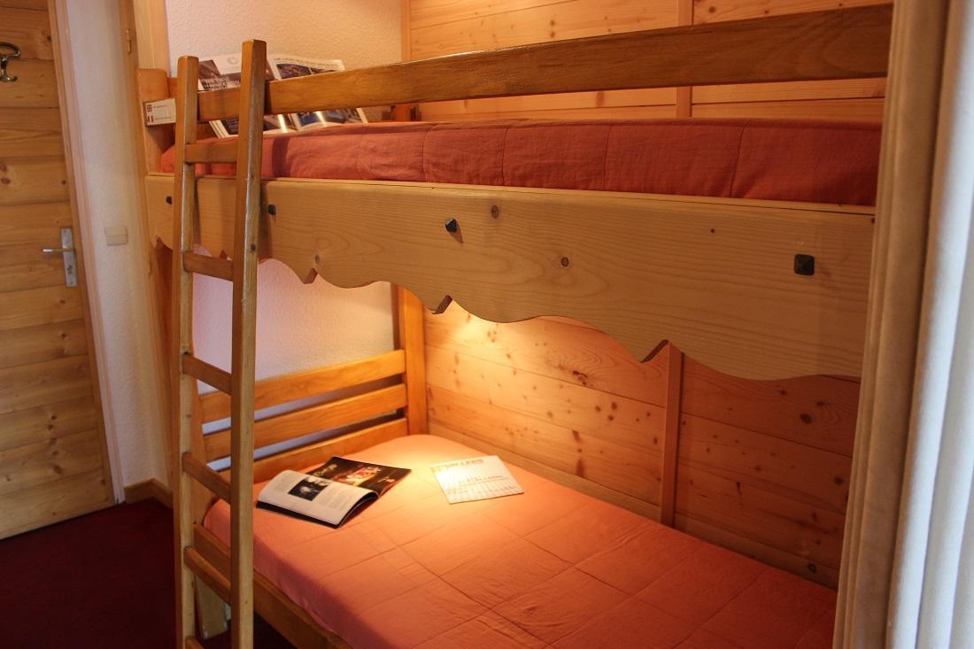 Location au ski Studio coin montagne 4 personnes (503) - Residence Le Lac Blanc - Val Thorens - Lits superposés