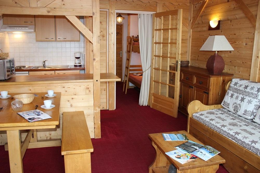 Location au ski Studio coin montagne 4 personnes (503) - Residence Le Lac Blanc - Val Thorens - Séjour
