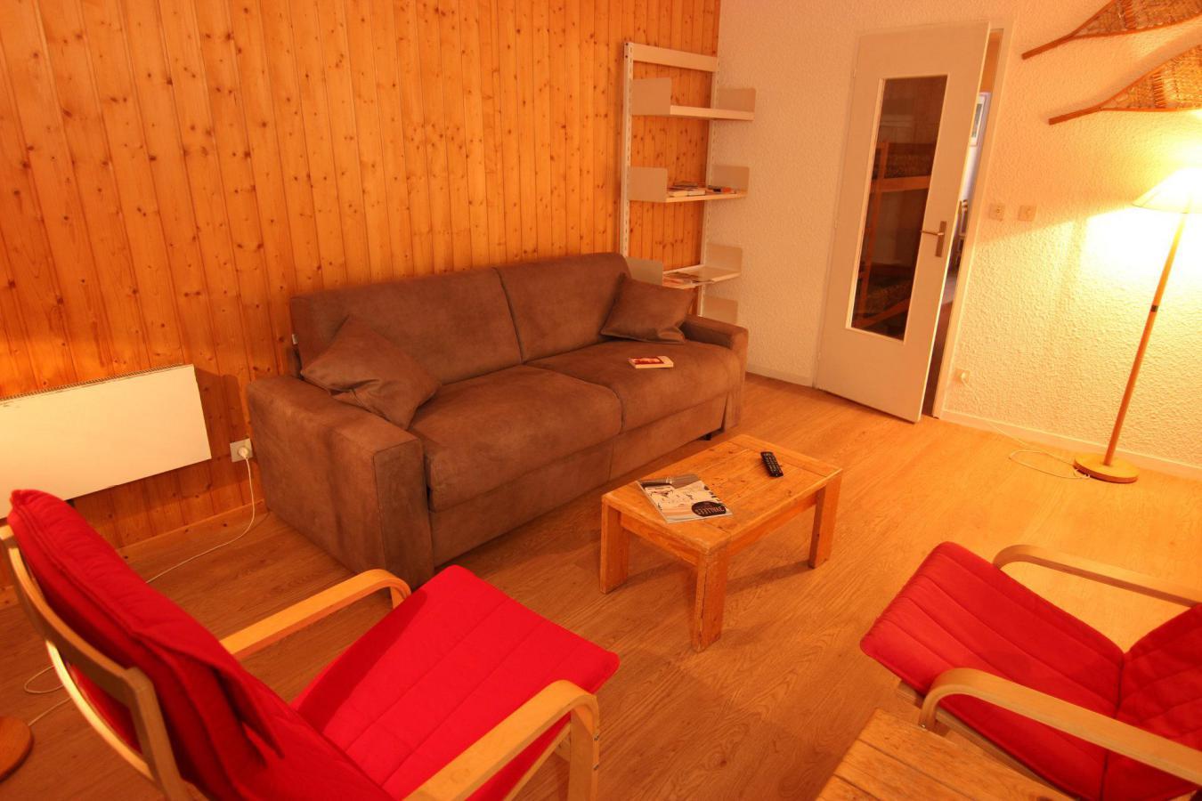 Location au ski Appartement 3 pièces 6 personnes (412) - Residence Le Lac Du Lou - Val Thorens - Canapé