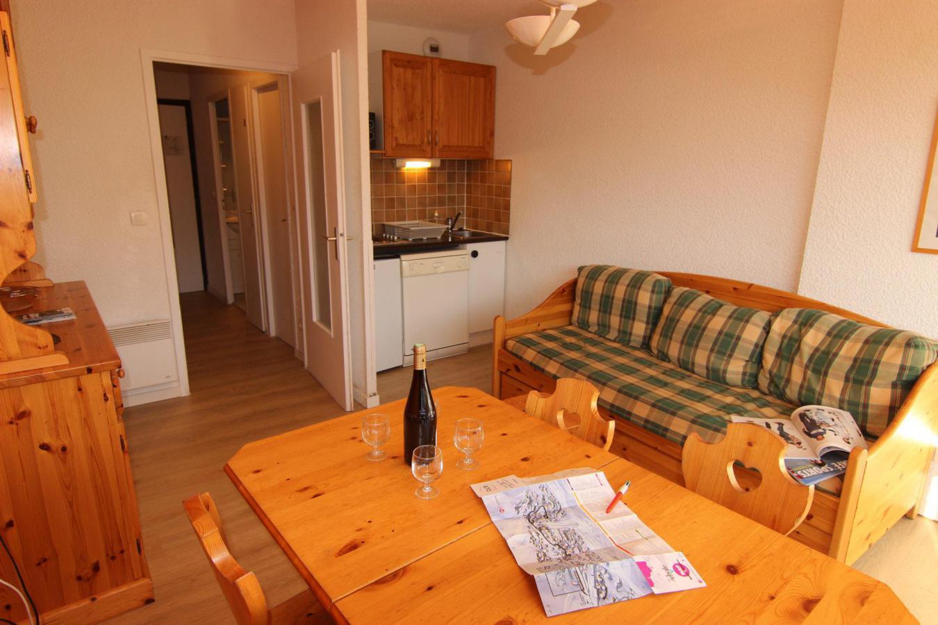 Location au ski Studio 4 personnes (110) - Residence Le Lac Du Lou - Val Thorens - Baignoire