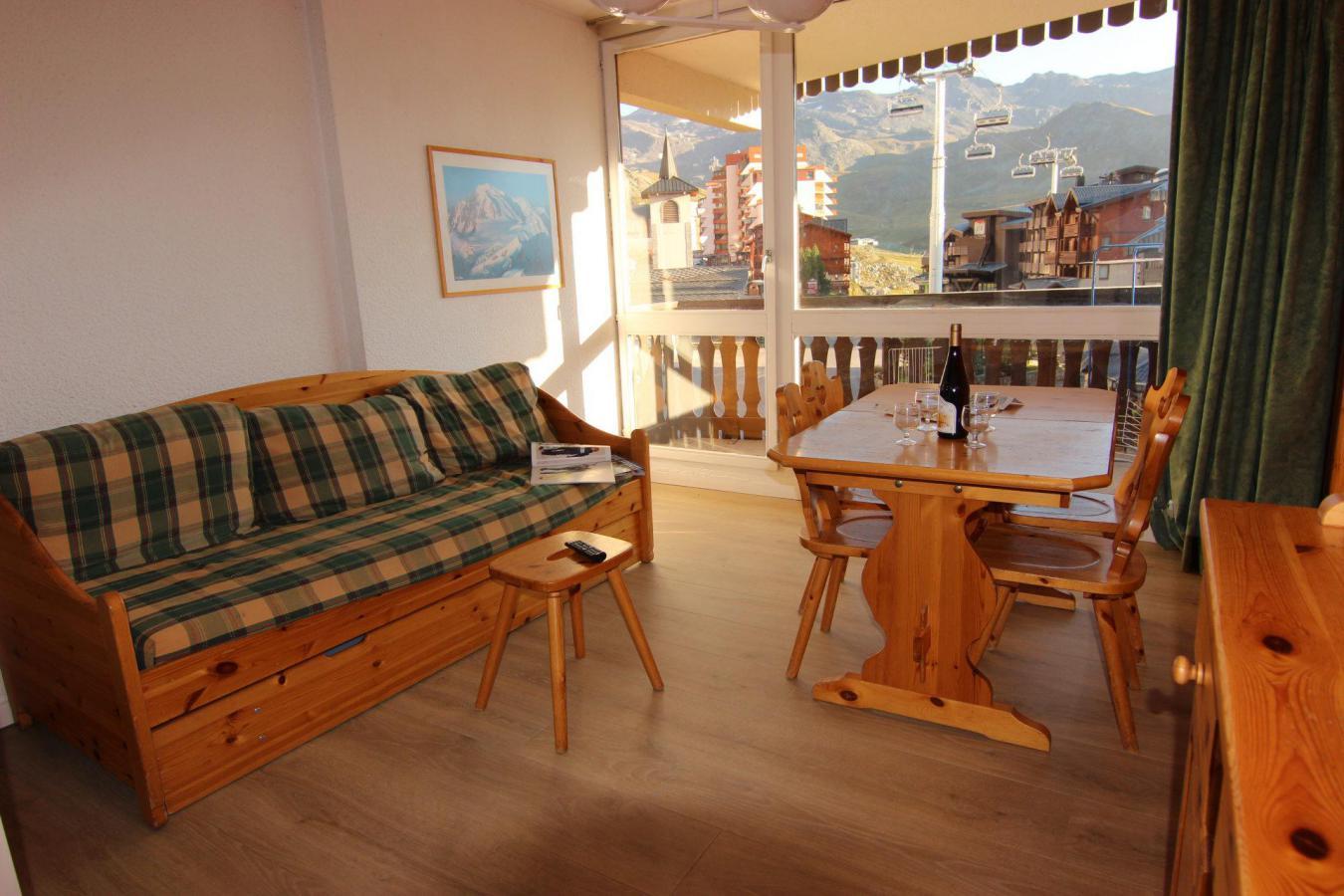 Location au ski Studio 4 personnes (110) - Residence Le Lac Du Lou - Val Thorens - Kitchenette