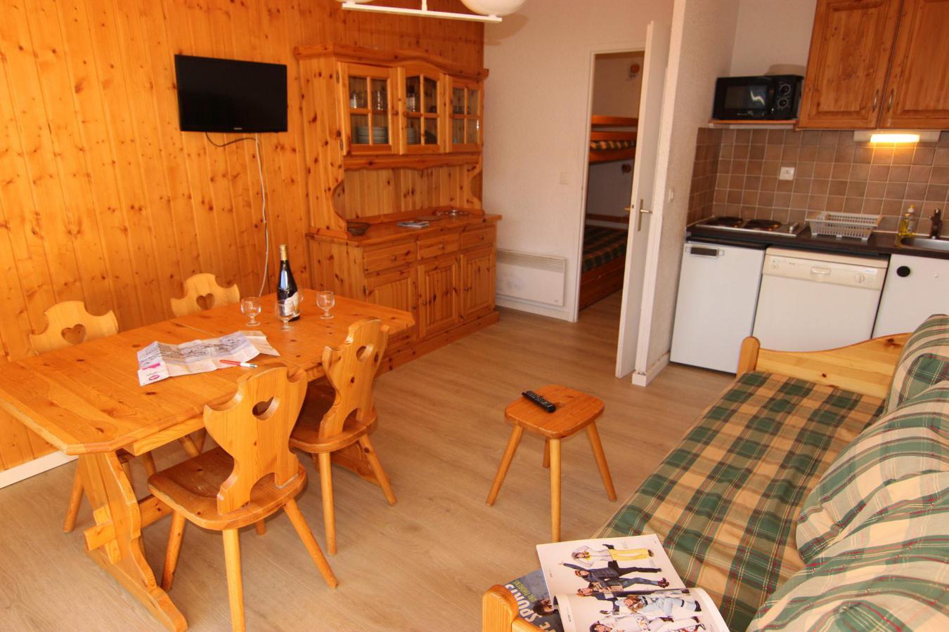 Location au ski Studio 4 personnes (110) - Residence Le Lac Du Lou - Val Thorens - Lits superposés