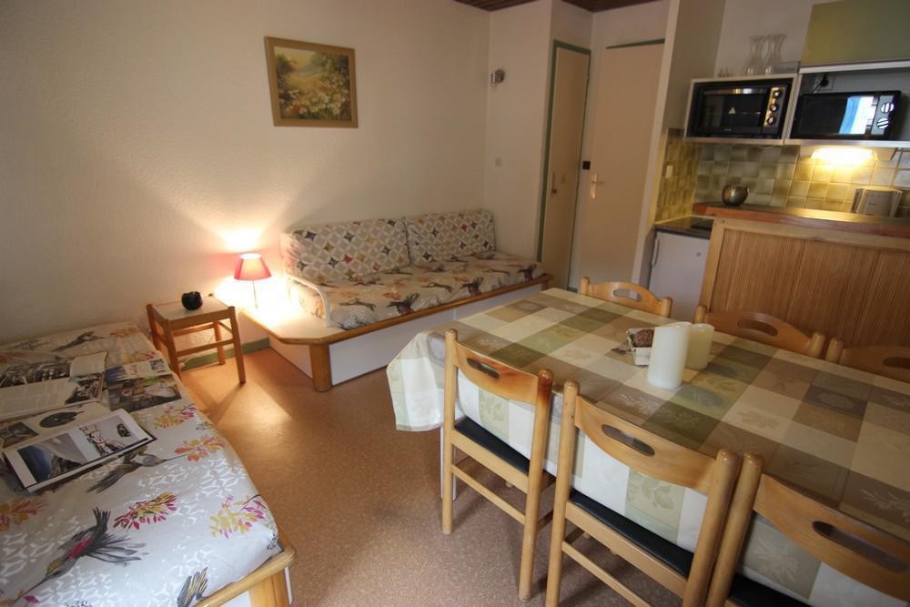 Location au ski Appartement 2 pièces cabine 6 personnes (12) - Residence Le Schuss - Val Thorens - Kitchenette