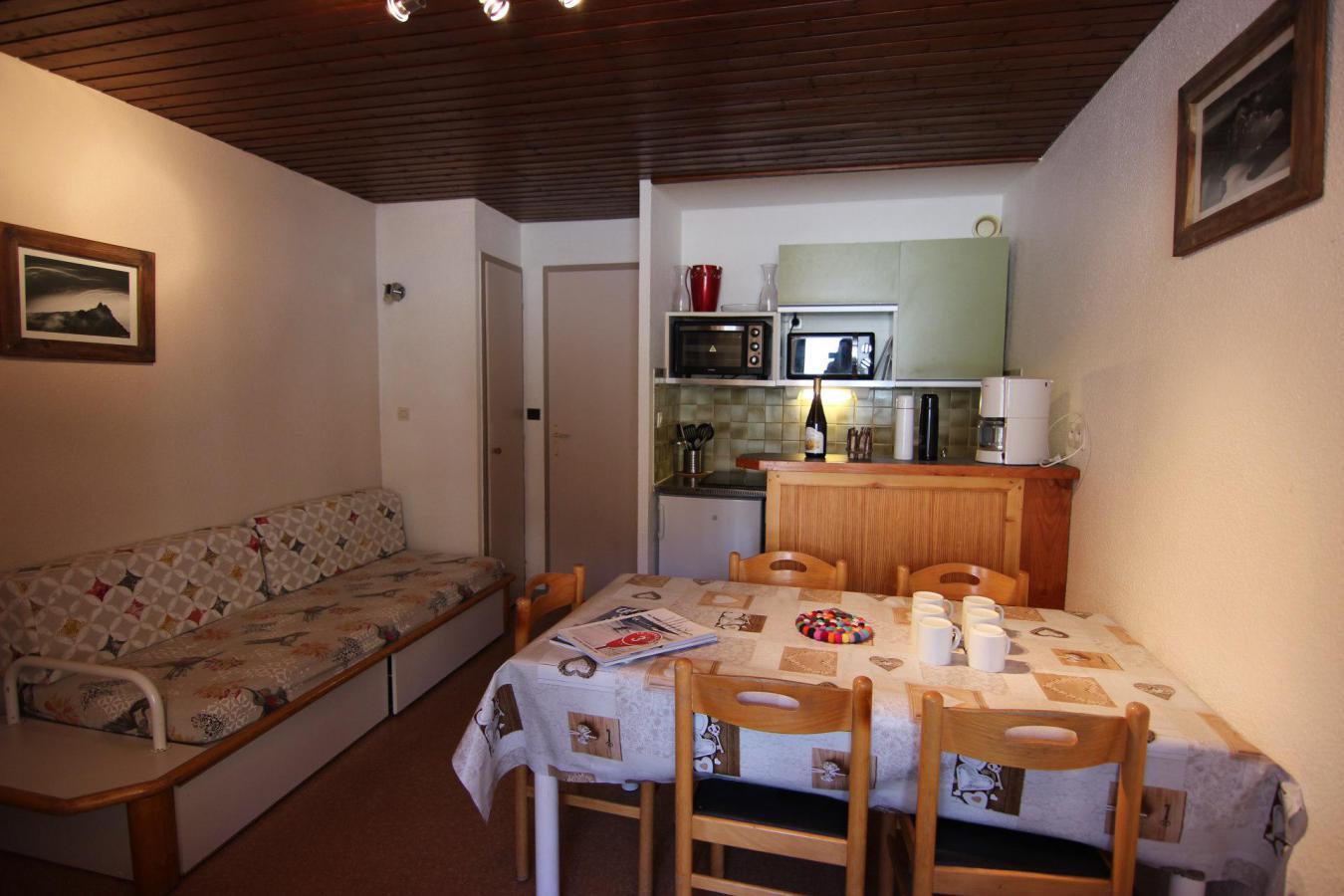 Location au ski Appartement 2 pièces cabine 6 personnes (12) - Residence Le Schuss - Val Thorens - Lits superposés