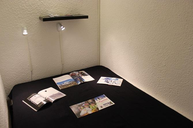 Location au ski Studio 5 personnes (102) - Residence Le Schuss - Val Thorens - Chambre