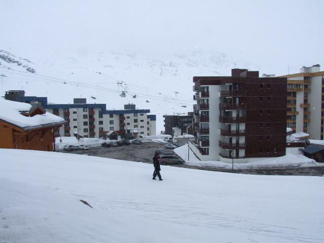 Location au ski Studio 3 personnes (P2) - Residence Le Serac - Val Thorens - Extérieur hiver