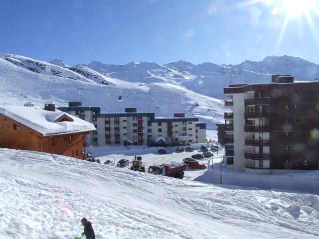 Location au ski Studio cabine 4 personnes (N2) - Residence Le Serac - Val Thorens - Extérieur hiver
