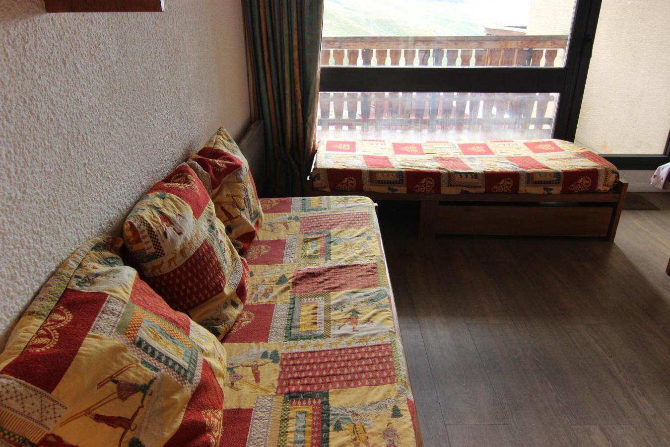 Location au ski Studio cabine 4 personnes (M7) - Residence Le Serac - Val Thorens - Plan