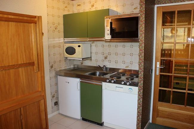 Location au ski Studio 3 personnes (H6) - Residence Le Serac - Val Thorens - Kitchenette