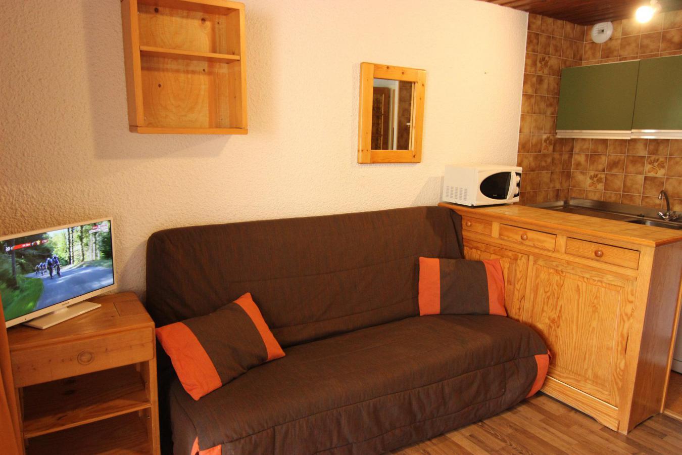 Location au ski Studio 3 personnes (S2) - Residence Le Serac - Val Thorens - Kitchenette