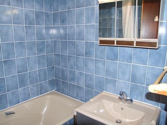 Location au ski Studio 3 personnes (S2) - Residence Le Serac - Val Thorens - Salle de bains
