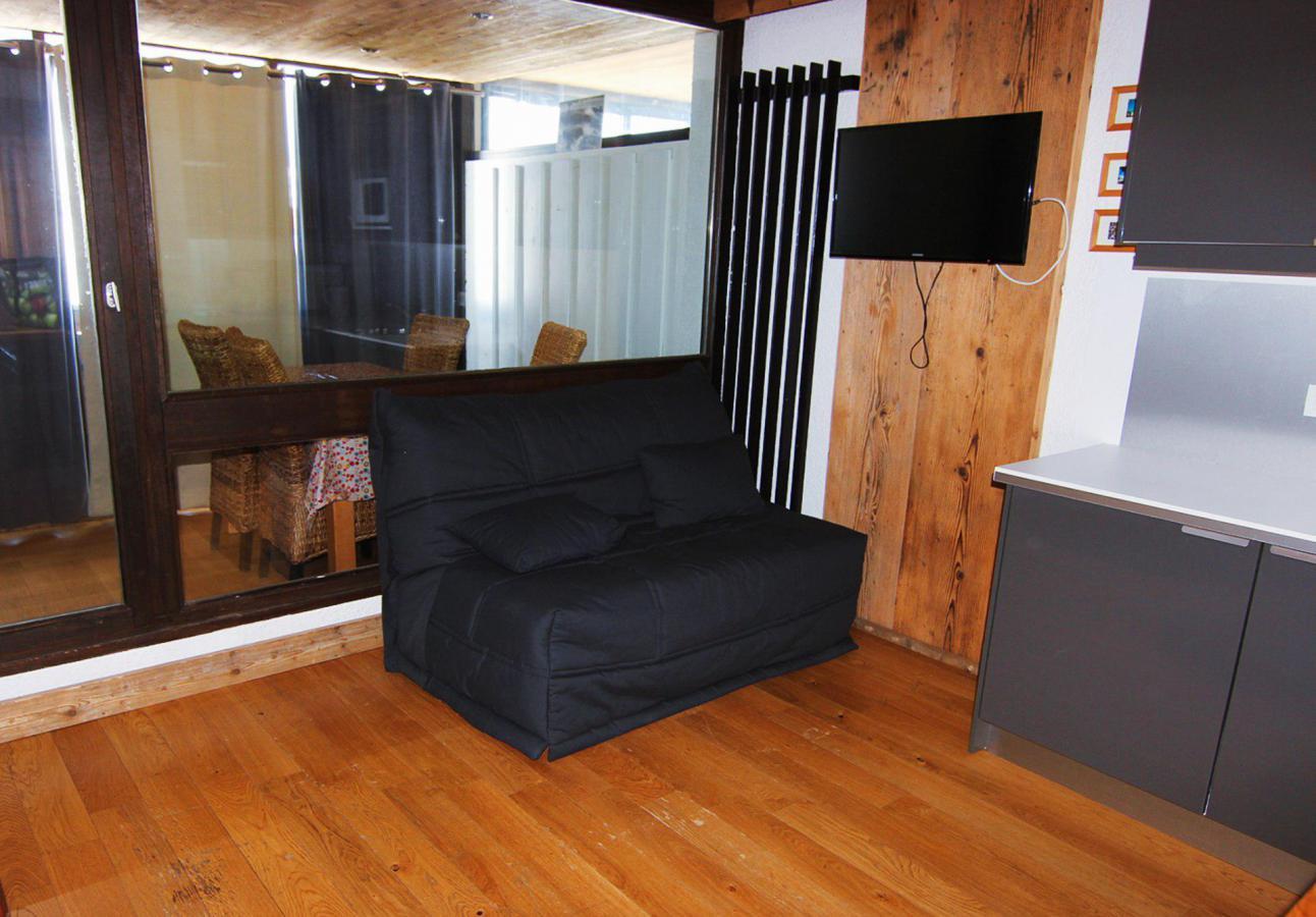 Location au ski Studio 4 personnes (H8) - Residence Le Serac - Val Thorens - Cuisine