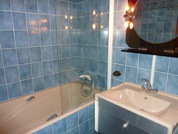 Location au ski Studio cabine 4 personnes (L4) - Residence Le Serac - Val Thorens - Salle de bains