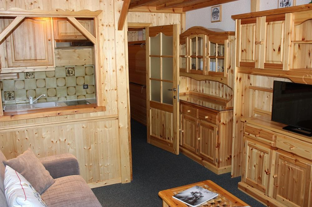 Location au ski Studio cabine 5 personnes (G2) - Residence Le Serac - Val Thorens - Kitchenette