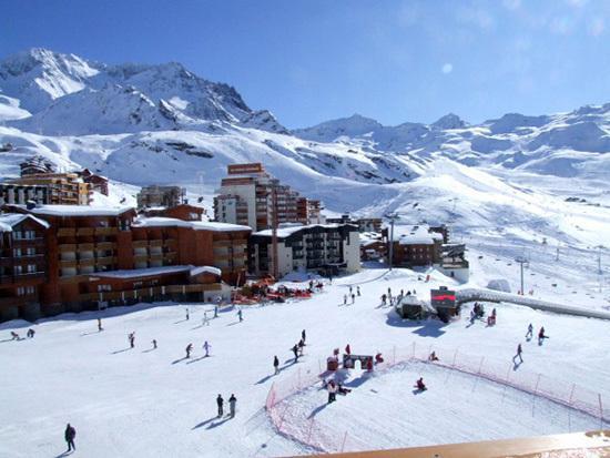 Location au ski Studio 3 personnes (63) - Residence Le Zenith - Val Thorens