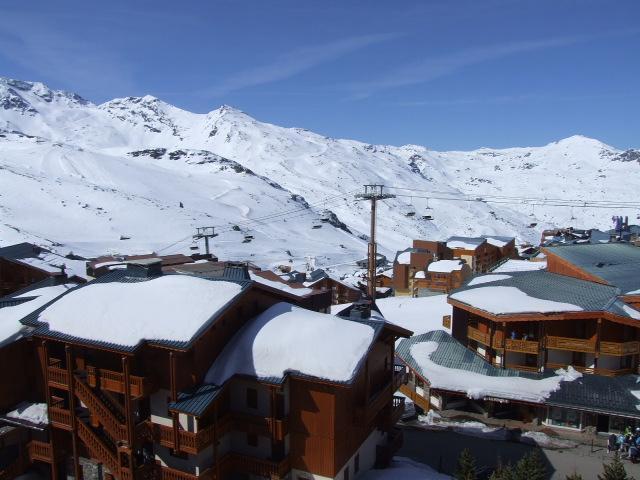 Location au ski Studio 3 personnes (604) - Residence Les Hauts De Vanoise - Val Thorens - Extérieur hiver