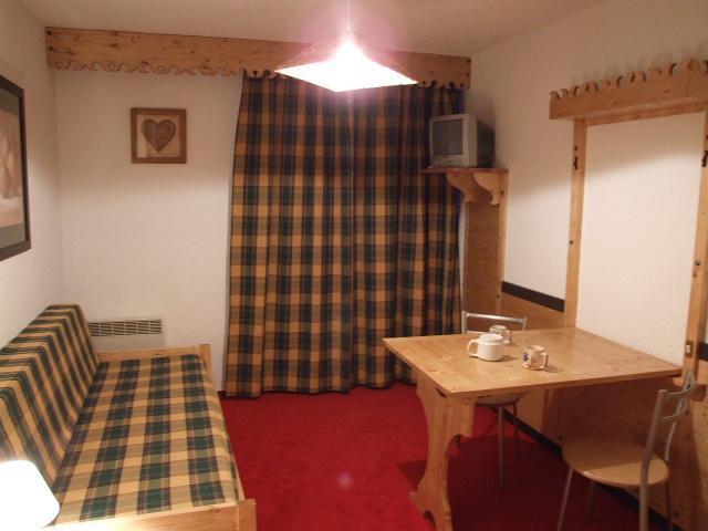Location au ski Studio 2 personnes (317) - Residence Les Hauts De Vanoise - Val Thorens - Banquette