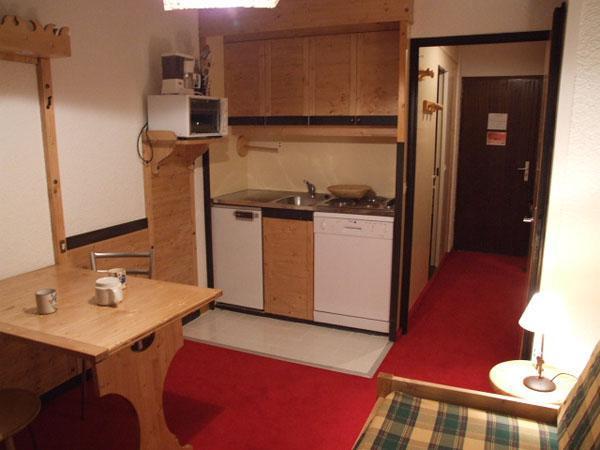 Location au ski Studio 2 personnes (317) - Residence Les Hauts De Vanoise - Val Thorens - Table