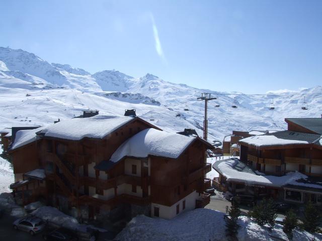 Location au ski Studio 2 personnes (409) - Residence Les Hauts De Vanoise - Val Thorens - Canapé