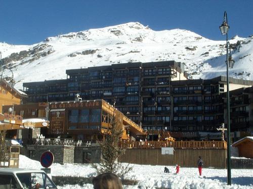 Location au ski Residence Les Neves - Val Thorens - Extérieur hiver