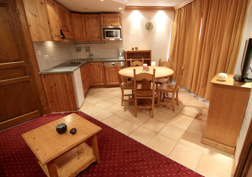 Location au ski Appartement 2 pièces cabine 5 personnes (117) - Residence Neves - Val Thorens - Lit simple