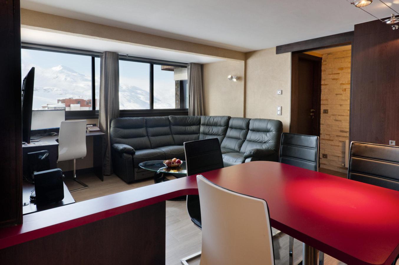 Location au ski Appartement 3 pièces cabine 6 personnes (198) - Residence Neves - Val Thorens - Sèche-chaussure de ski
