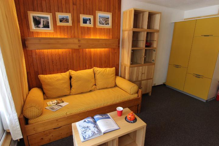 Location au ski Studio 4 personnes (154) - Residence Neves - Val Thorens - Extérieur hiver